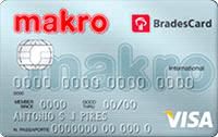 Logo Makro BradesCard Makro Internacional