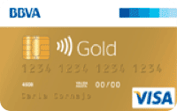 Logo BBVA Visa Gold