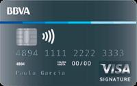 Logo BBVA Visa Signature