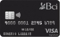 Logo Banco BCI Visa Signature