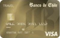 Logo Banco de Chile Travel Club Visa Dorada