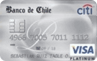 Logo Banco de Chile Travel Club Visa Platinum