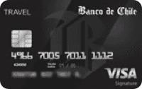 Logo Banco de Chile Visa Signature