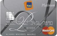 Logo Banco Itaú Mastercard Platinum