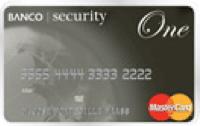 Logo Banco Security Mastercard One