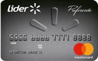 Logo Lider Líder MasterCard Preferente