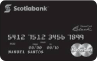 Logo Banco Scotiabank MasterCard Black